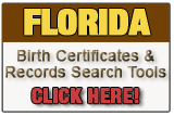 Florida birth records search form